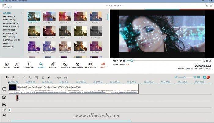 Wondershare Filmora Video Editor Download For Windows 32 64 Bits Video Editing Software Video Editor Video Editing