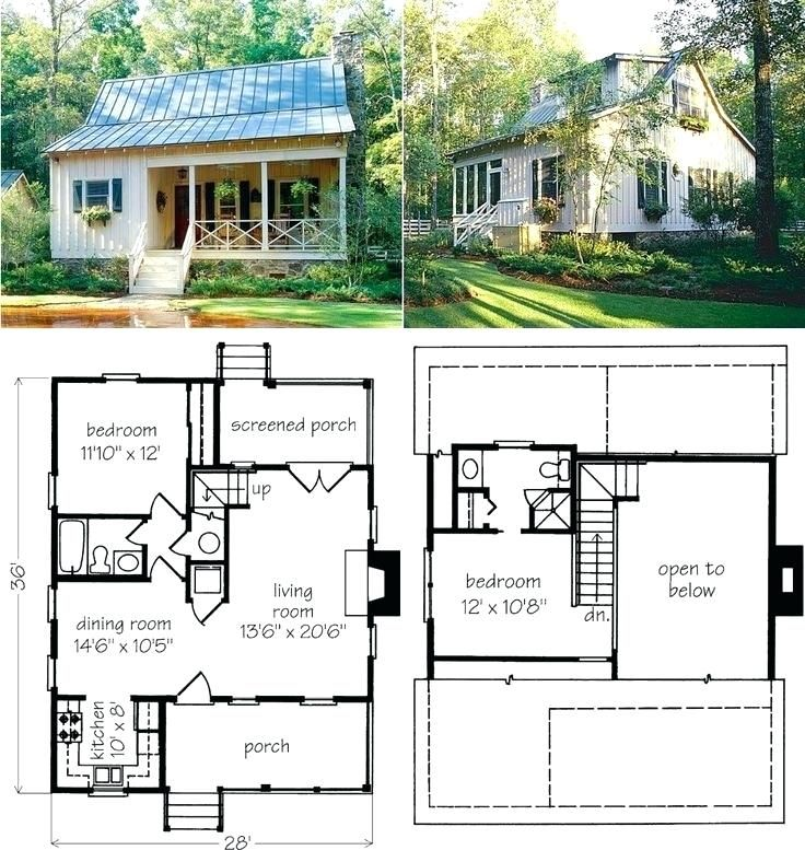 Cute Small Cottage House Plans Cute Small House Plans Inspirational Small Cottage House Plans Small House Ideas Pi Tiny Farmhouse Tiny House Plans Cottage Plan
