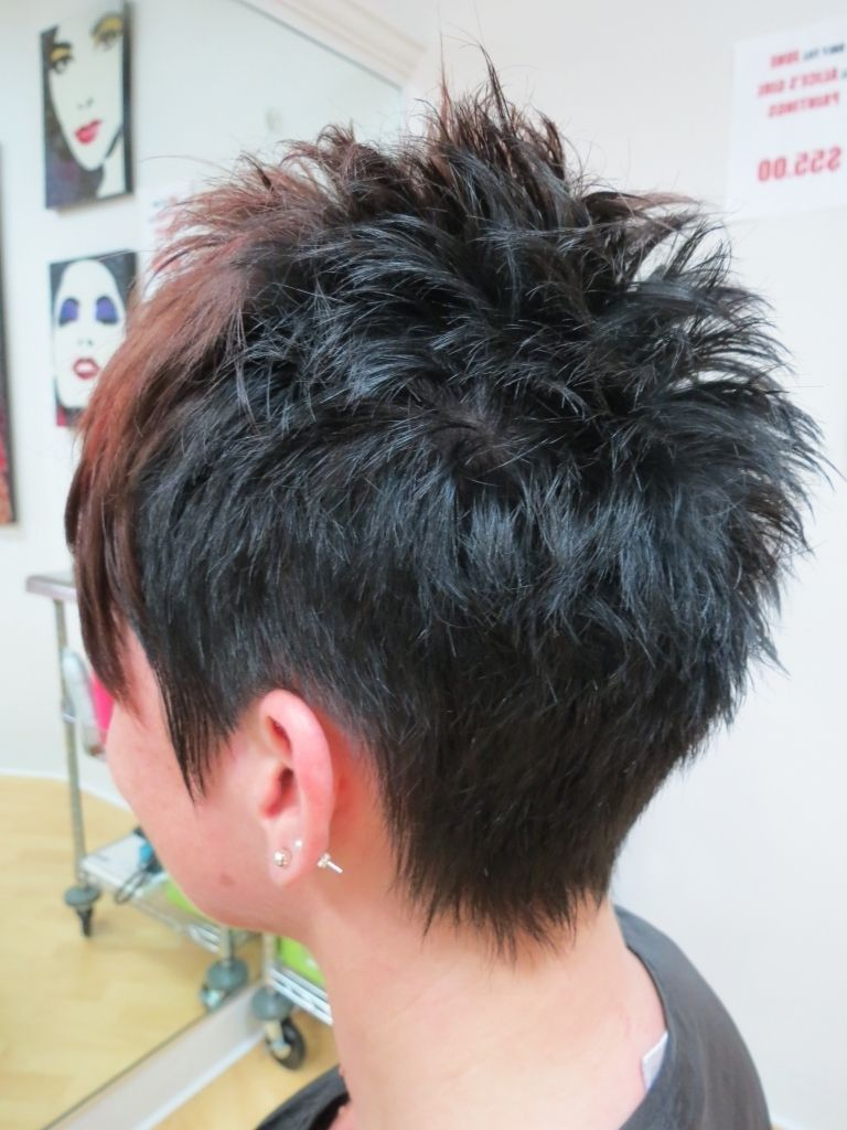 Short Haircut Back View Images About Hair On Pinterest Shailene Woodley Pixie 2017 Womenshaircut Short Spiky Haircuts Short Spiky Hairstyles Short Hair Styles