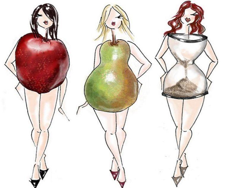Если фигура яблоко как похудеть в животе