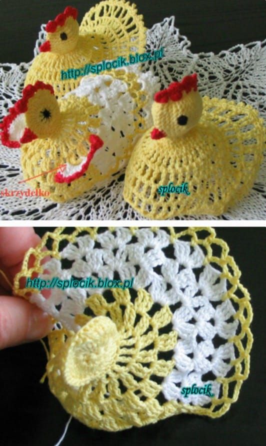 Vintage Crochet Chicken Patterns The Cutest Collection Crocheting