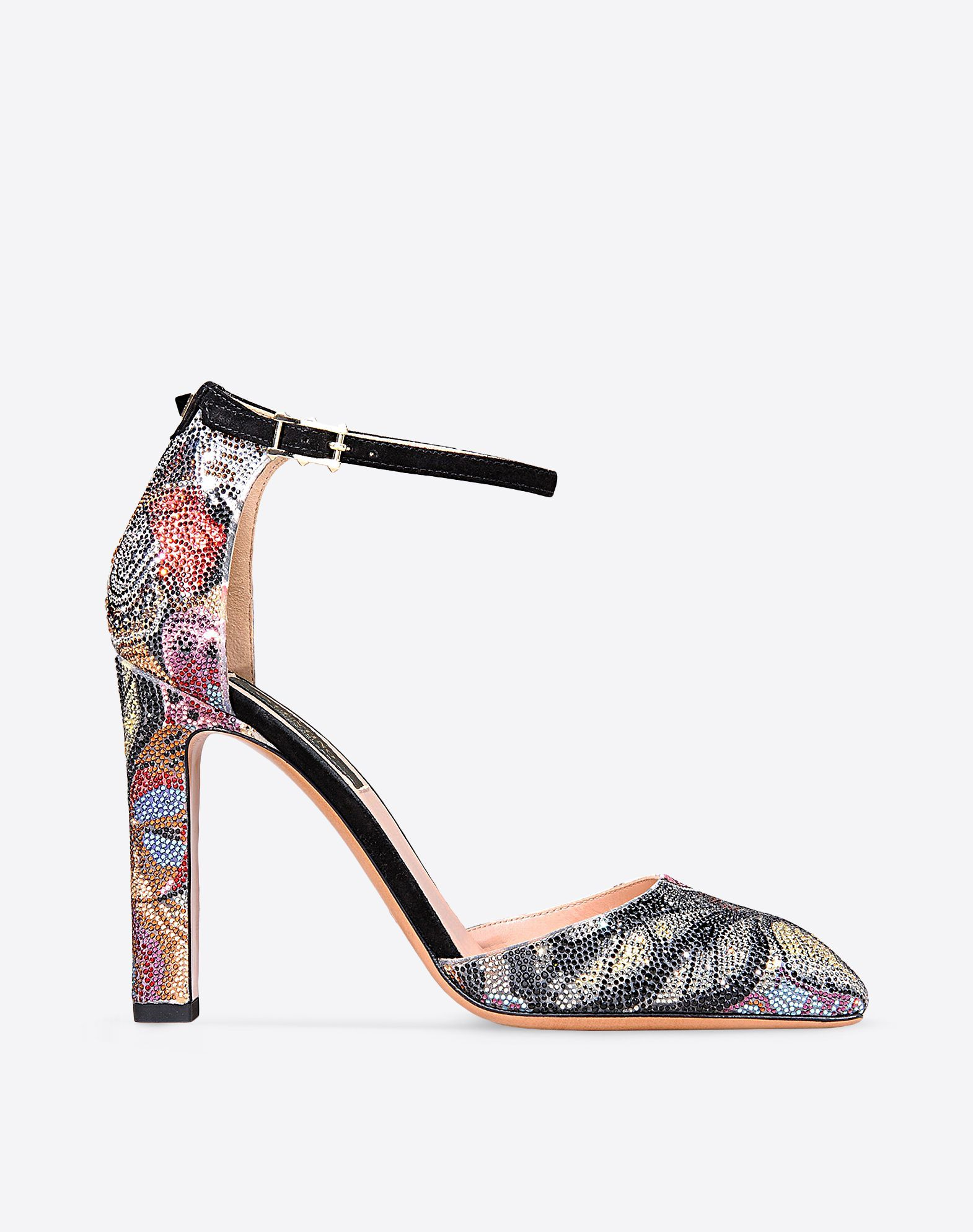 Womens Camubutterfly Leather Sandals Valentino 5PHXHlcglb