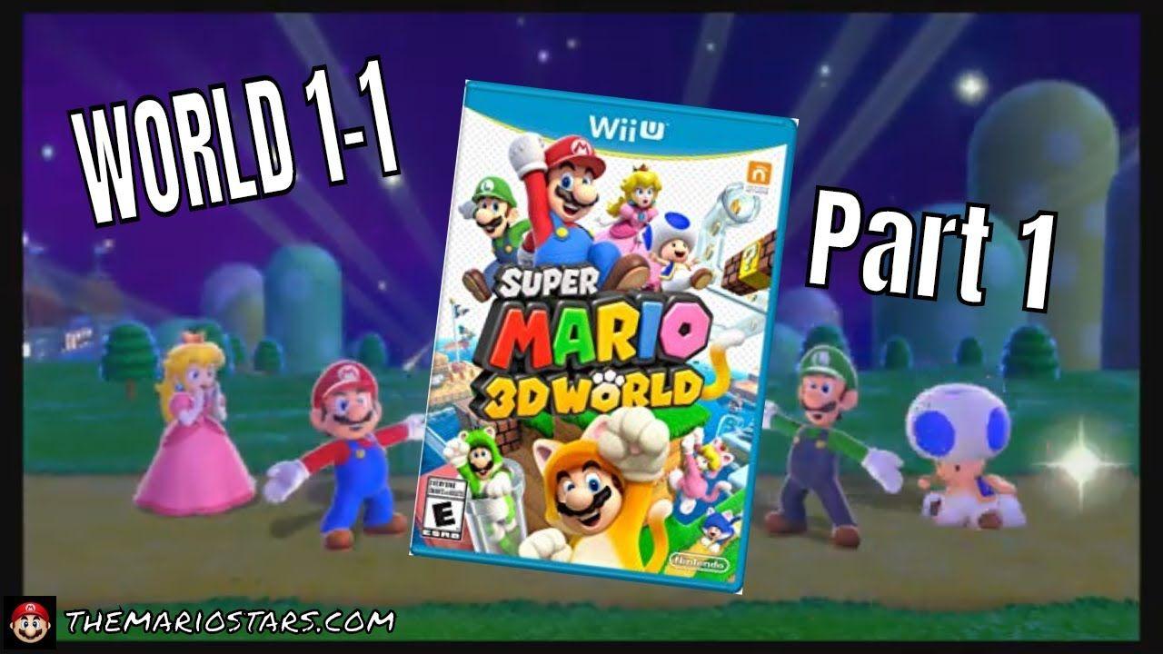 Super Mario 3d World World 1 1 Gameplay Mario Kart