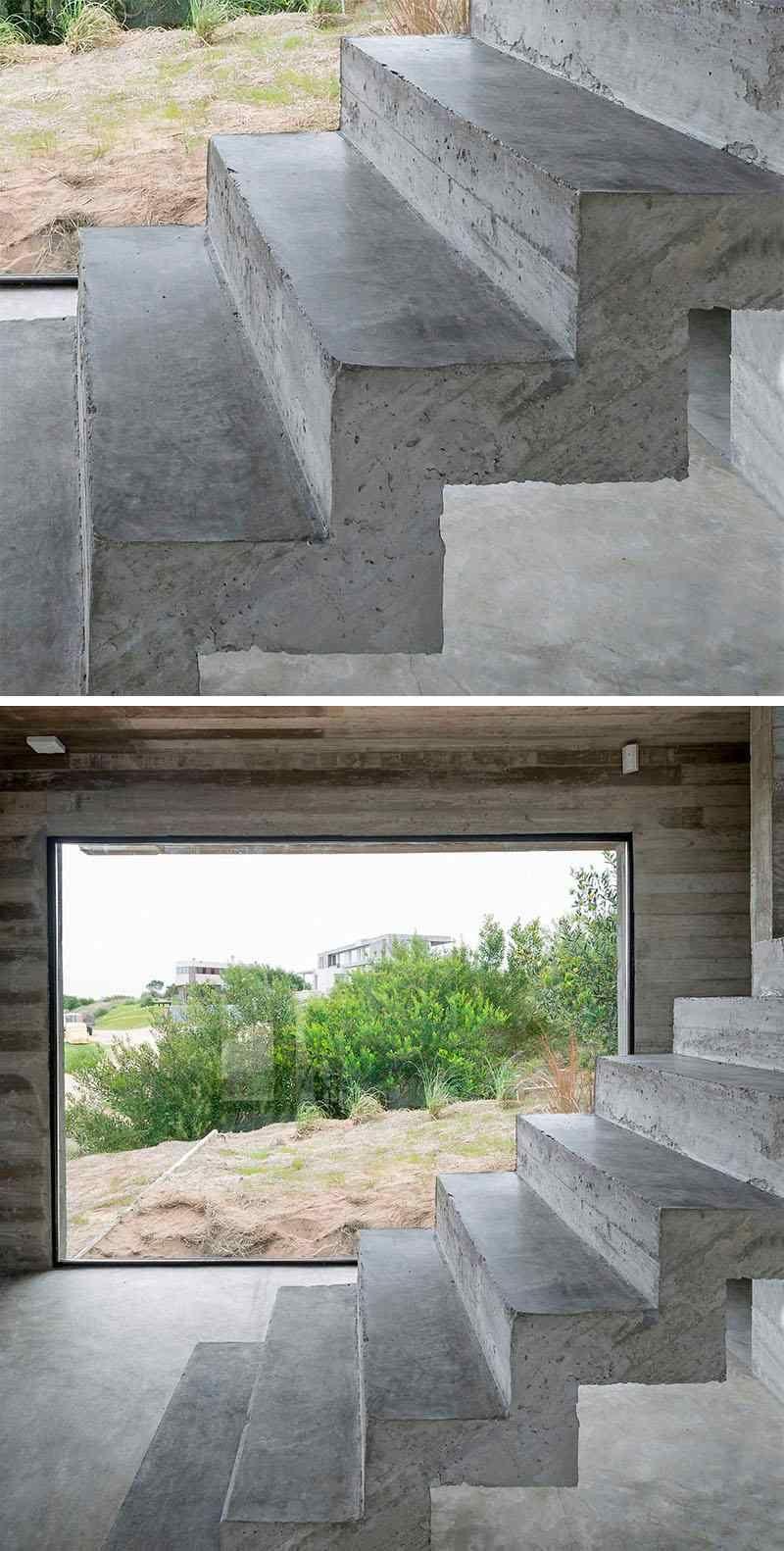 Escalier int rieur design la beaut est dans les d tails for Beton interieur