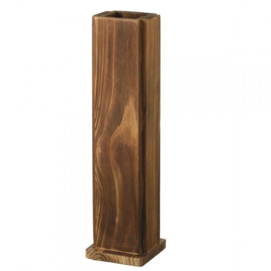 Tall Rustic Wooden Vase [MW-252543 Buy Tall Wooden Vase] : Wholesale ...