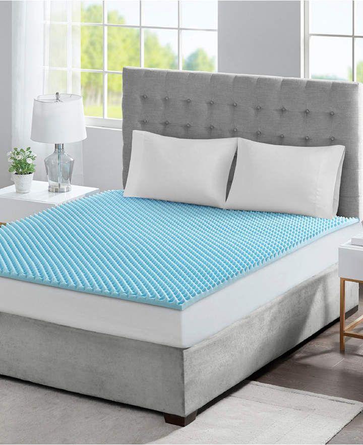 Sleep Philosophy Flexapedic By 1 5 Gel Infused Memory Foam King Mattress Topper Reviews Mattress Pads Toppers Bed Bath Macy S In 2020 Memory Foam Mattress Topper Foam