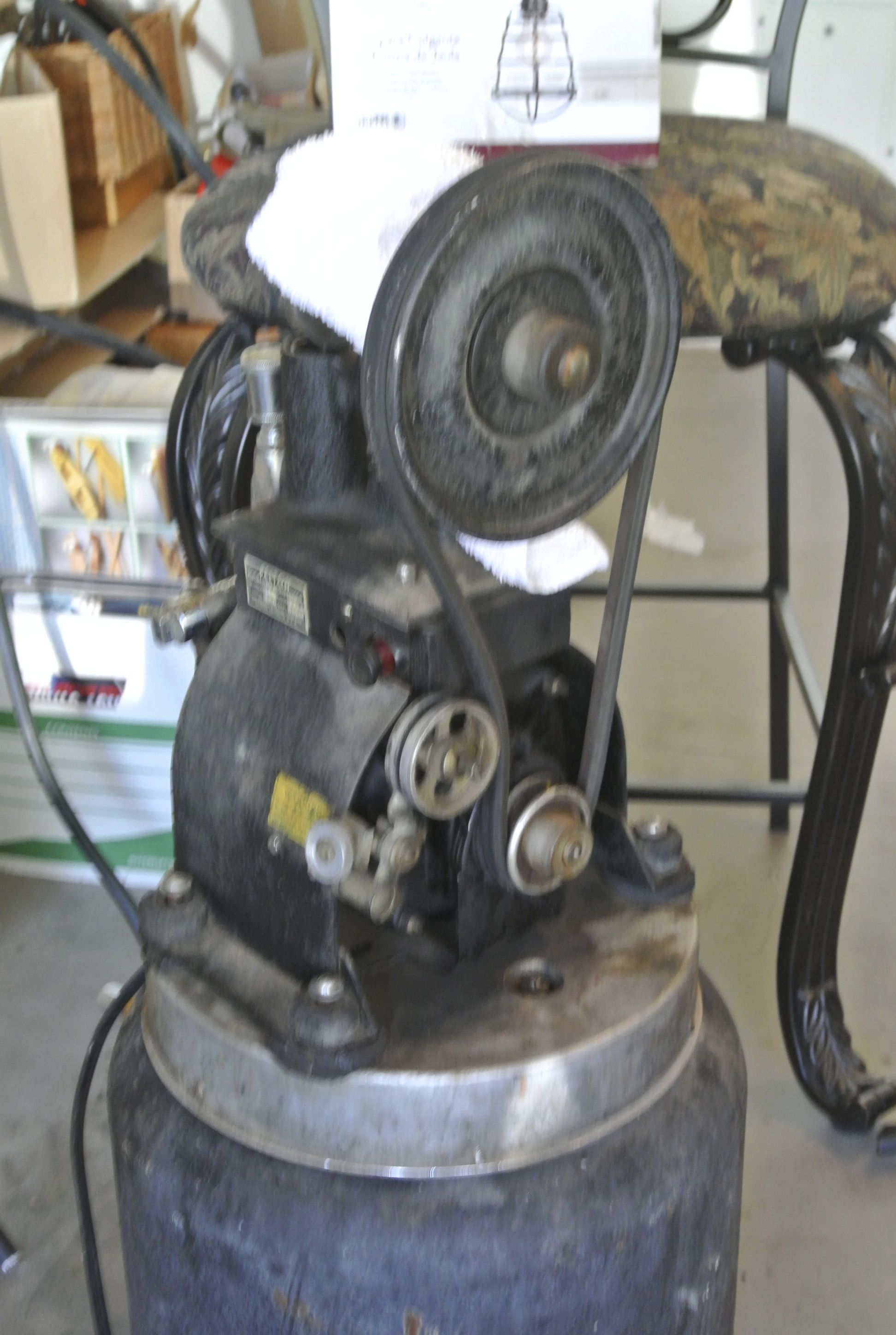 Antique Dental air compressor in as found condition