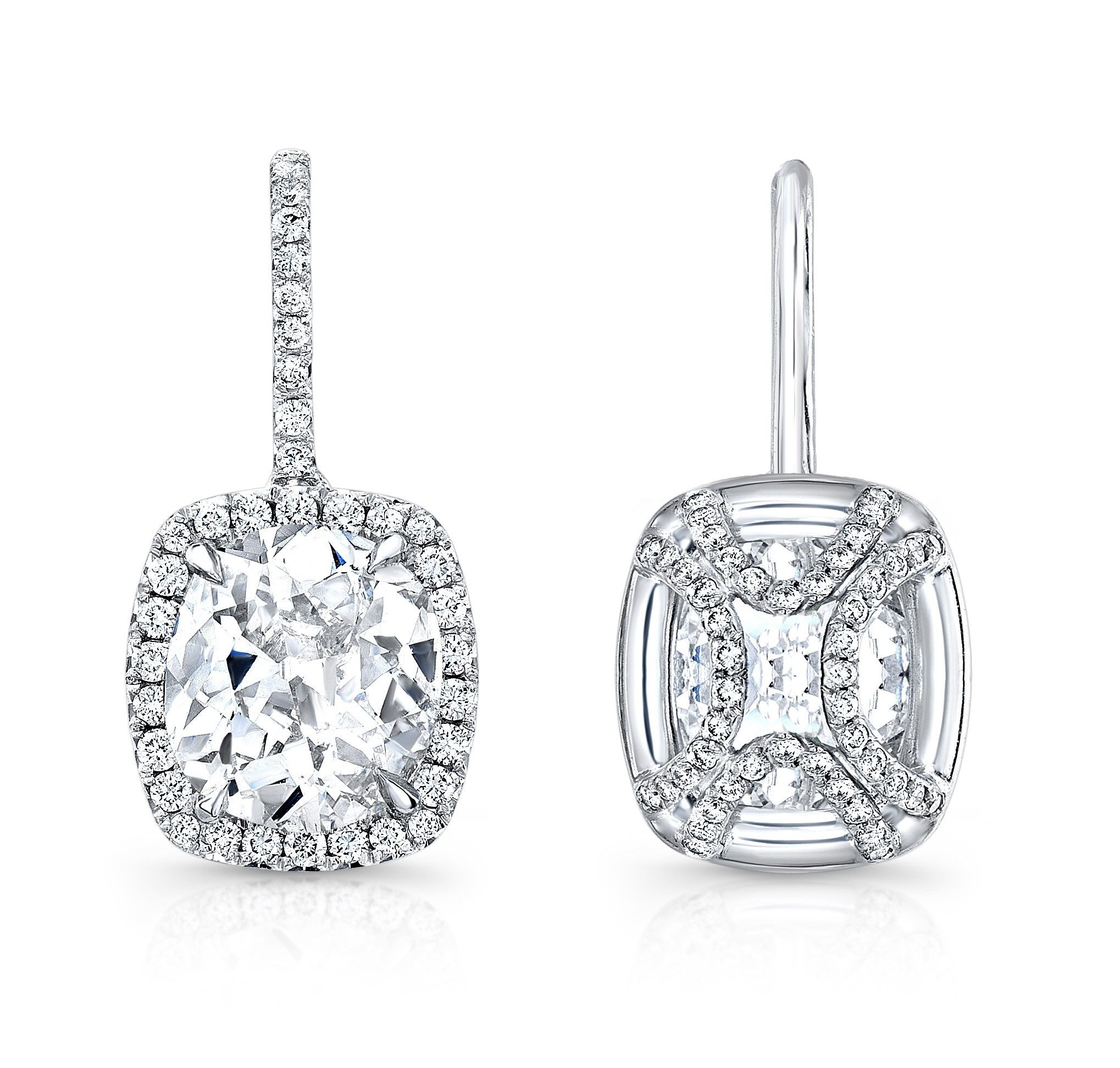 fetheray cut antique vintage diamond stud studs blingtastic products earrings earring hand