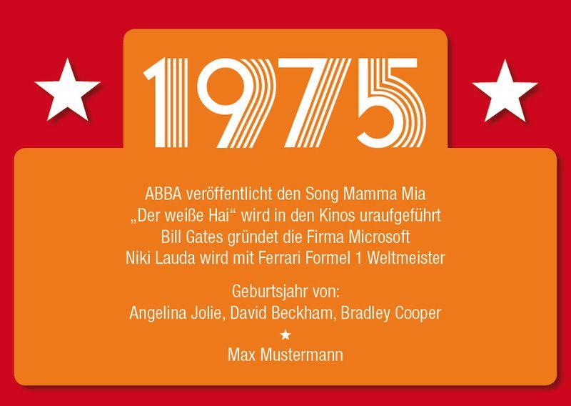 superior spruche zum 40 geburtstag einladung #3: Einladung zum 40. Geburtstag: 1978 Ereignisse