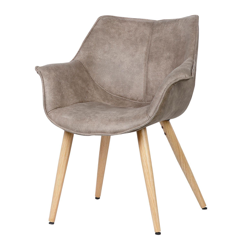 Armlehnenstuhl Kantii I Kaufen Home24 Stuhle Esszimmerstuhle Stuhl Leder