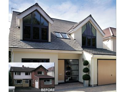 Exterior Makeovers Contemporary Update Extensions