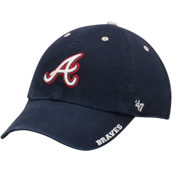 separation shoes 4bb34 2ca51 ... discount mens atlanta braves 47 navy ice clean up adjustable hat your  price 21.99 bf5db f336c