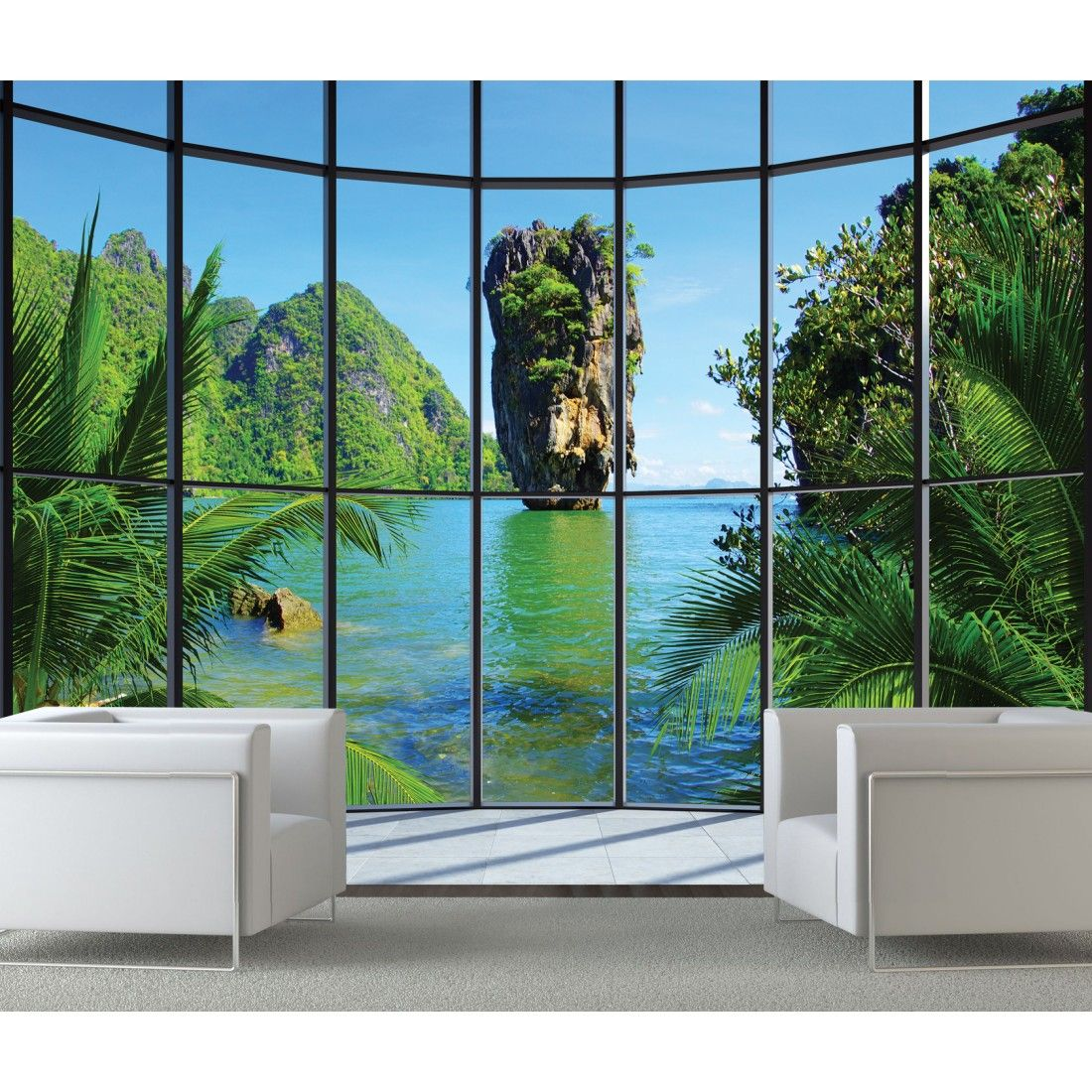 Thailand Window Giant Wall Mural Murals Pinterest Wall Murals