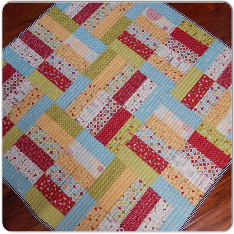 This post is part of a quilt tutorial series by Teri \'s Jelly Roll ...