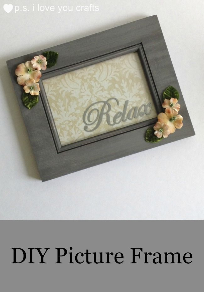 DIY Picture Frames to Make