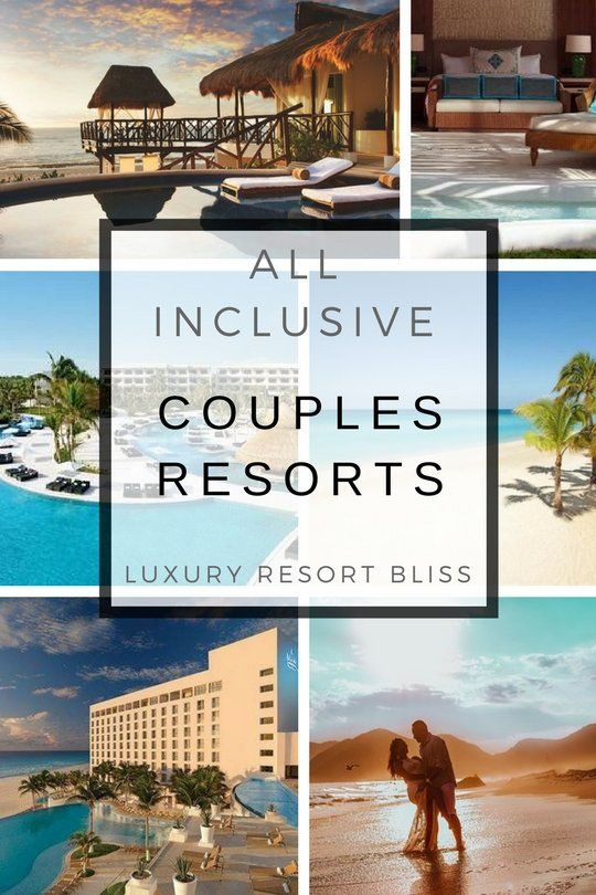 Adult couple inclusive resort