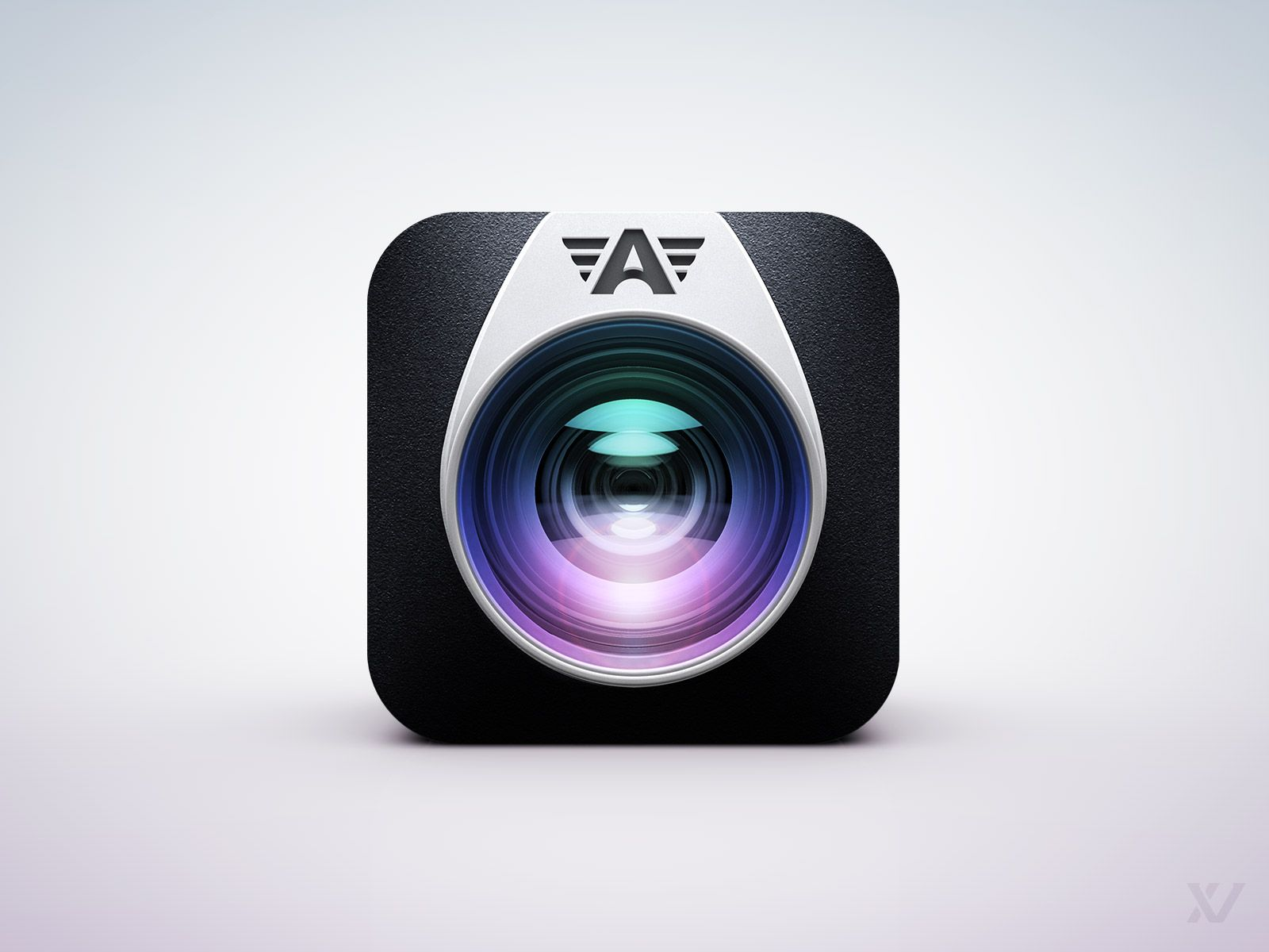 Dribbble - PREVIEW_-_Camera_Awesome_App_Icon_v2_by_Vilen.jpg by Vilen