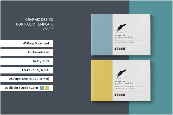 Proposal Brochure by Estartshop on @creativemarket brochure - portfolio cover page template