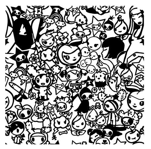 Free Coloring Pages Of Tokidoki Cute Coloring Pages Coloring Pages Unicorn Coloring Pages