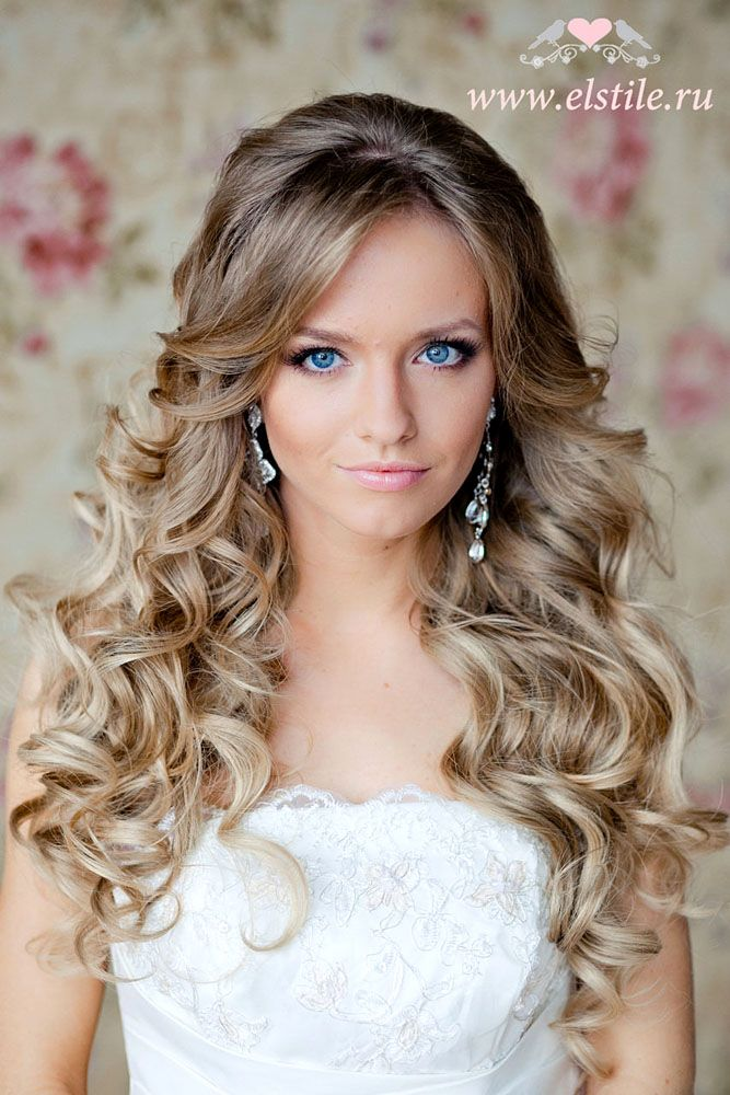 Essential Guide To Wedding Hairstyles For Long Hair Wedding Forward Long Hair Styles Bride Hairstyles Curly Wedding Hair