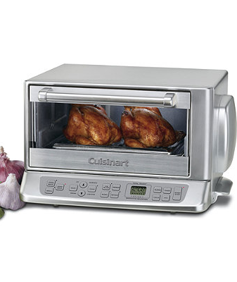 The Cuisinart Convection Toaster Oven Does The Work Of Two Appliances While Using Only Half The Counter Cuisinart Toaster Oven Convection Toaster Oven Toaster