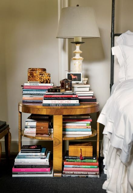 my nightstand is a little like this