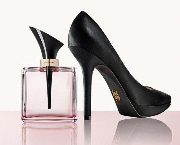 Flacon De Parfum Talon Aiguille Love Fury Beauté Shoes Perfume