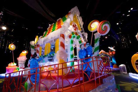 Ice candy house Gaylord Palms Orlando   JUST 4 FUN - Young at ...