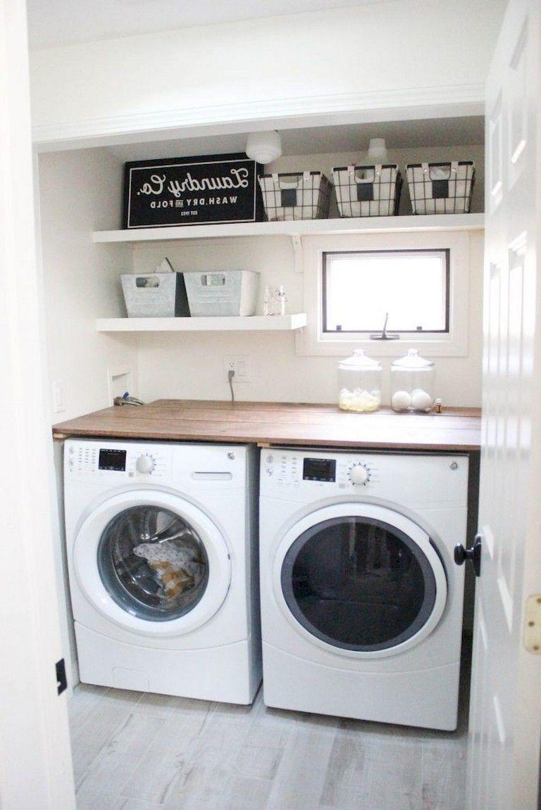 70 Best Diy Small Laundry Room Organization Ideas Waschkuche