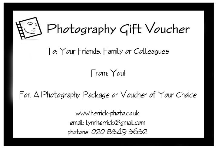 Gift Voucher Format Amazing Gift Photo Voucher Example North London Photographer Voucher  Photo .