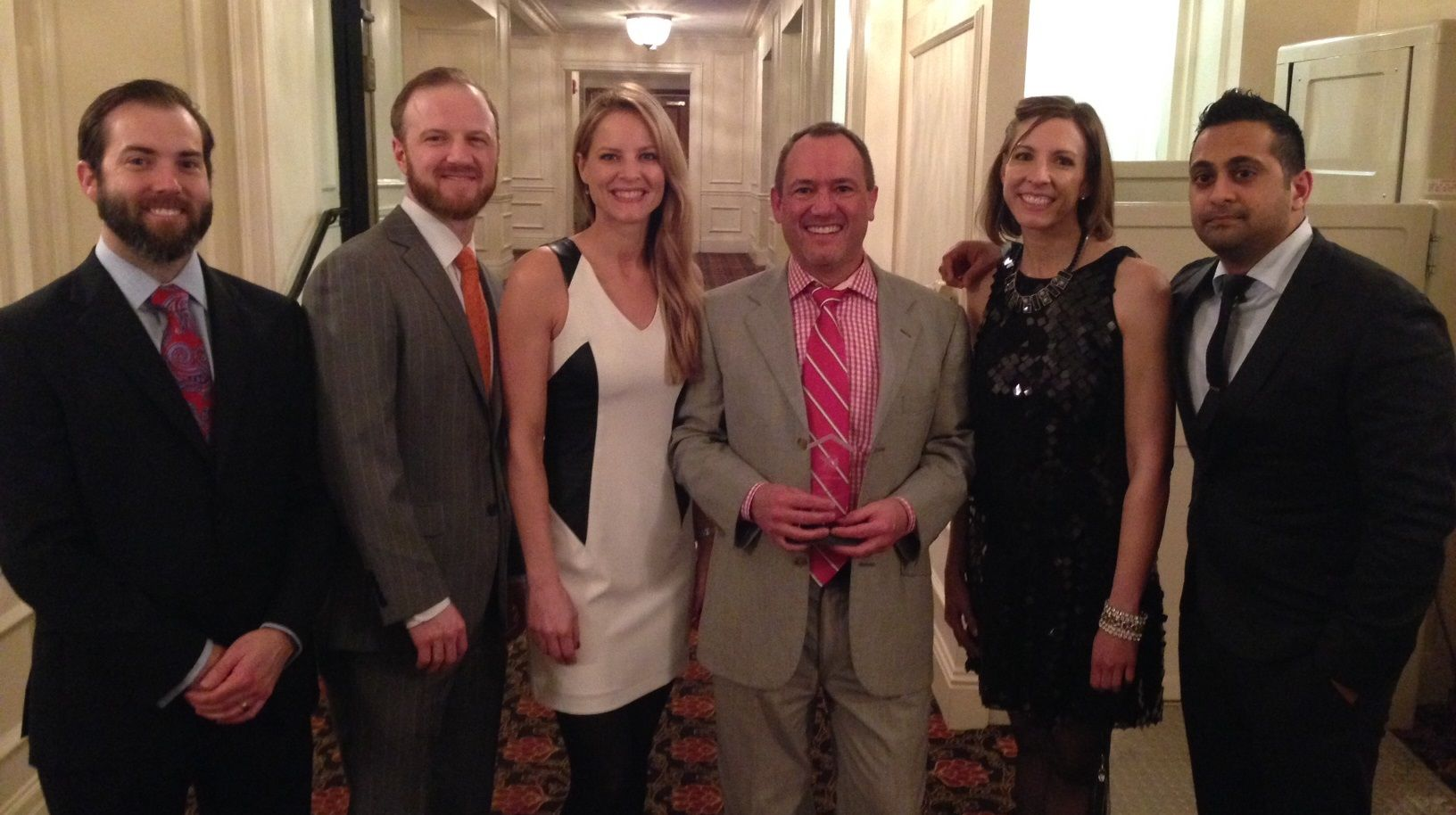 Dr  Rehm was honored to receive the annual Plastic Surgery