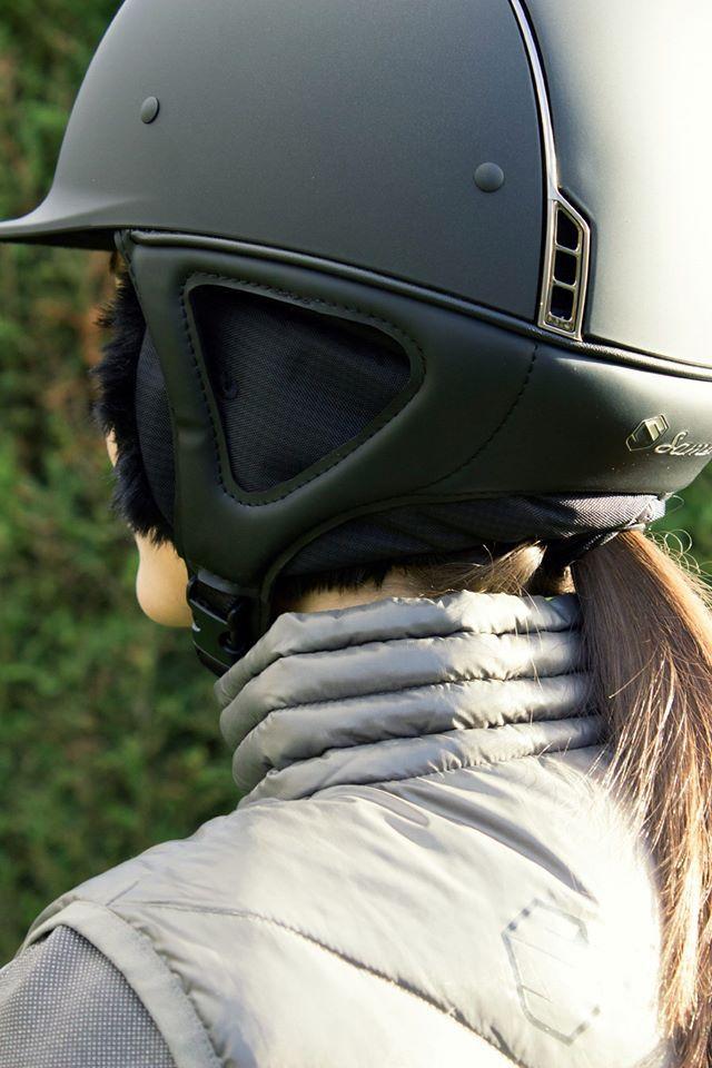 www.horsealot.com, the equestrian social network for riders & horse lovers | Equestrian Fashion : Samshield Winter Liner helmet.