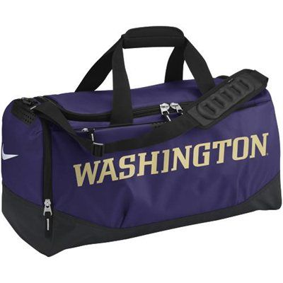 9f8e128d4470 Nike Washington Huskies Medium Training Duffle - Purple