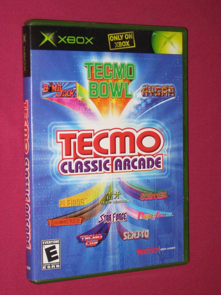 Tecmo Classics Arcade Xbox Original Game, Rygar Solomons