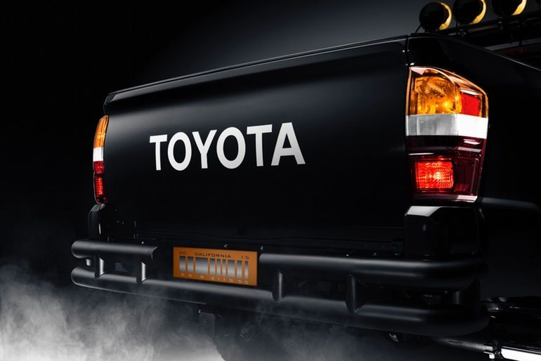 Toyota Goes Back To The Future With Tacoma And Mirai With Images
