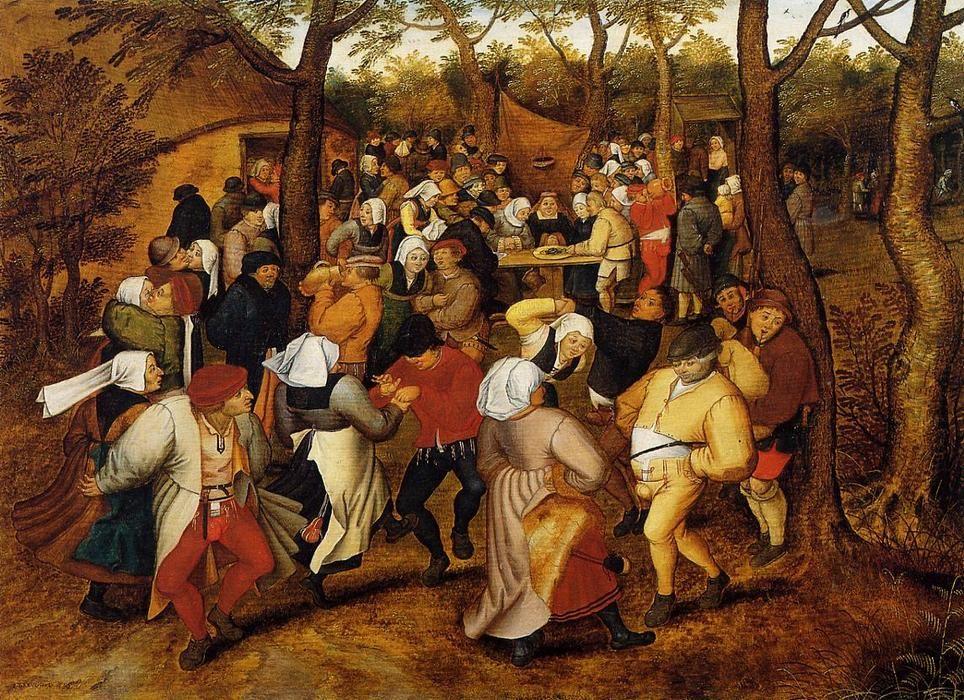 Pieter Bruegel The Younger Le Paysanne Mariage Comment Peindre Peintre Peintre Flamand