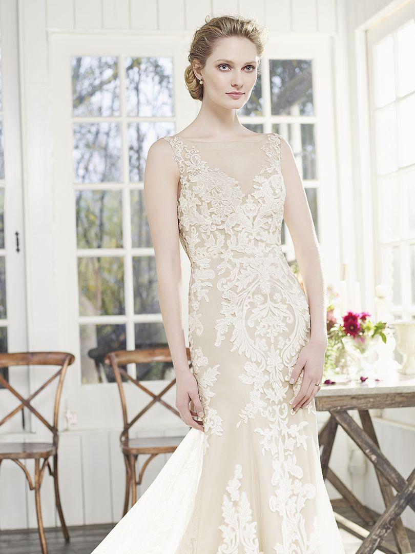 Casablanca Bridal Style 2261 Poinsettia. Brides who adore