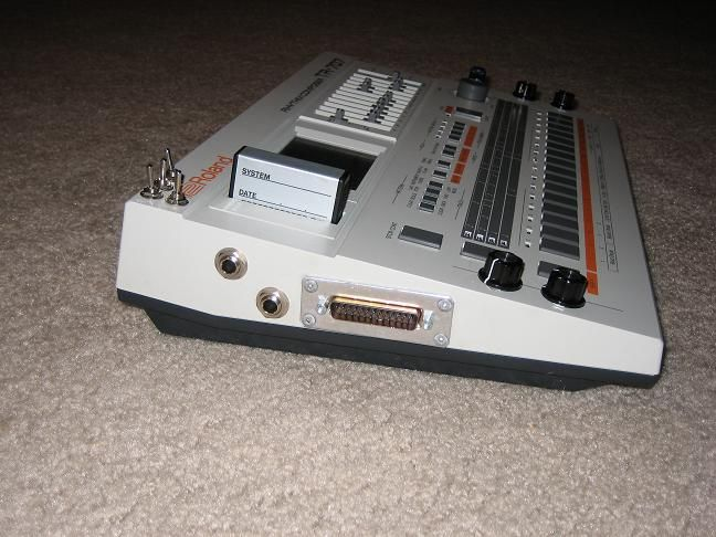 modded 707 drum machine circuit bent to act as a crude synth rh pinterest com