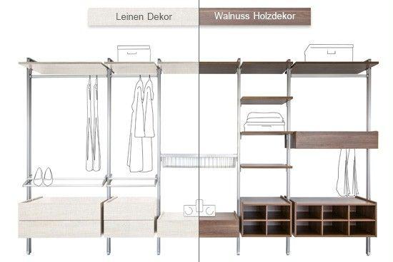 Cool Begehbarer Kleiderschrank Innenschranksystem Relax