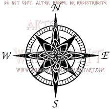 Celtic North Star Compass Compass Rose Tattoo Compass Tattoo