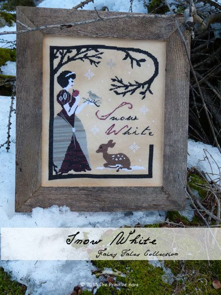 Snow White : E-Pattern by ThePrimitiveHare on Etsy