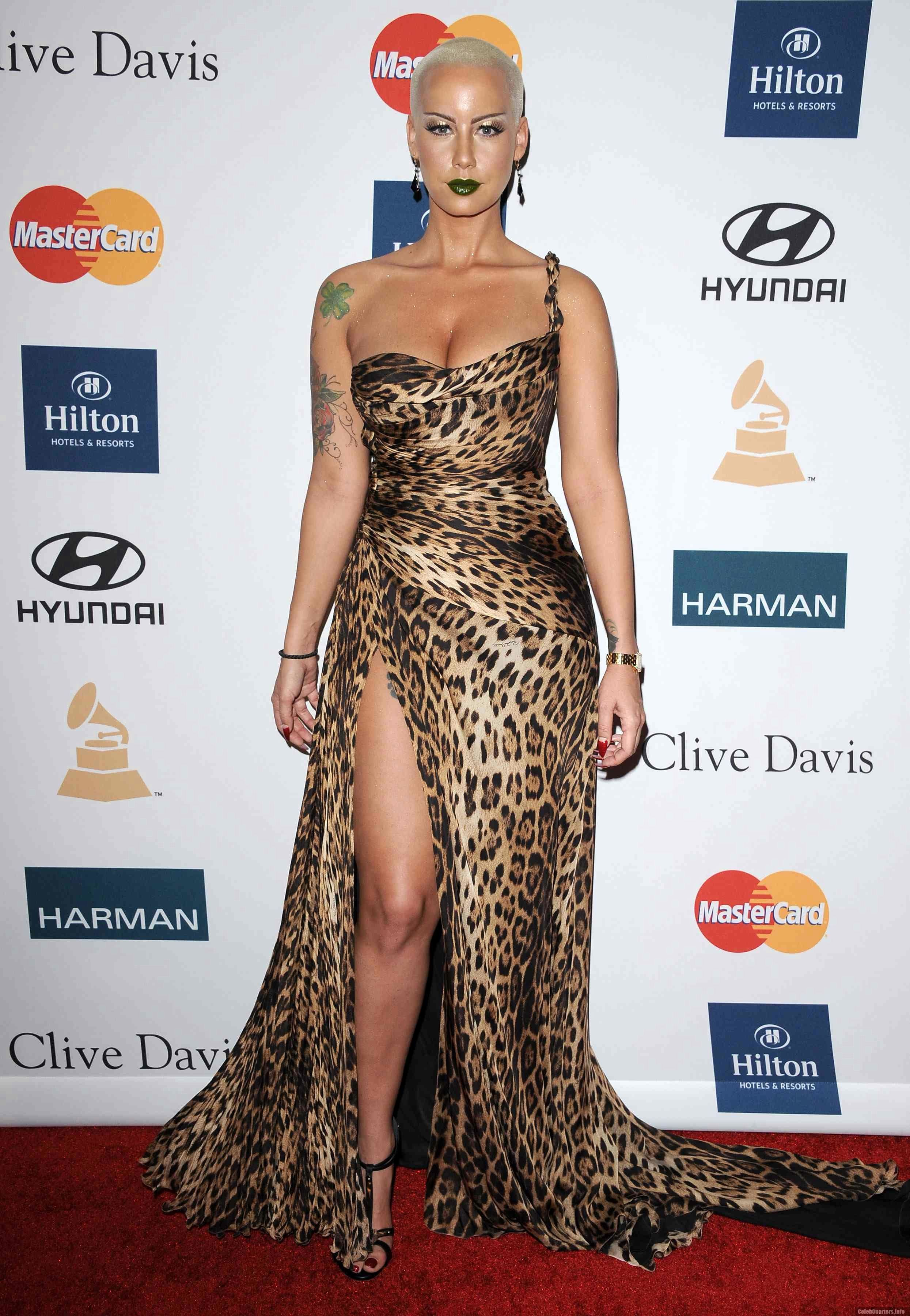 Leopard Wrap Split Bottom Dress | Amber rose, Fashion, Dresses