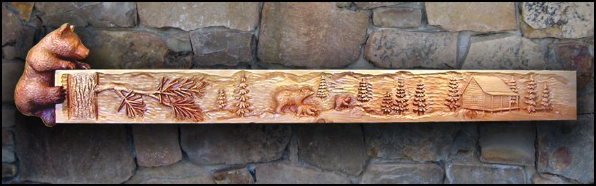 Mantels and Wood carving