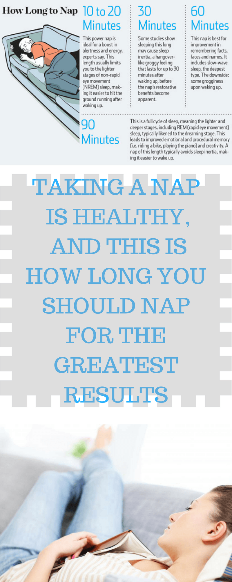 taking a nap is healthy and this is how long you should nap for the