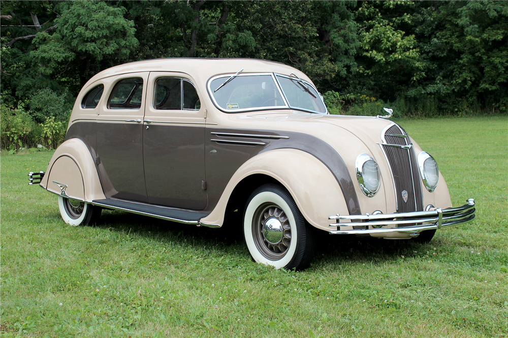1935 DeSoto Airflow was built by Chrysler for sale through its ...