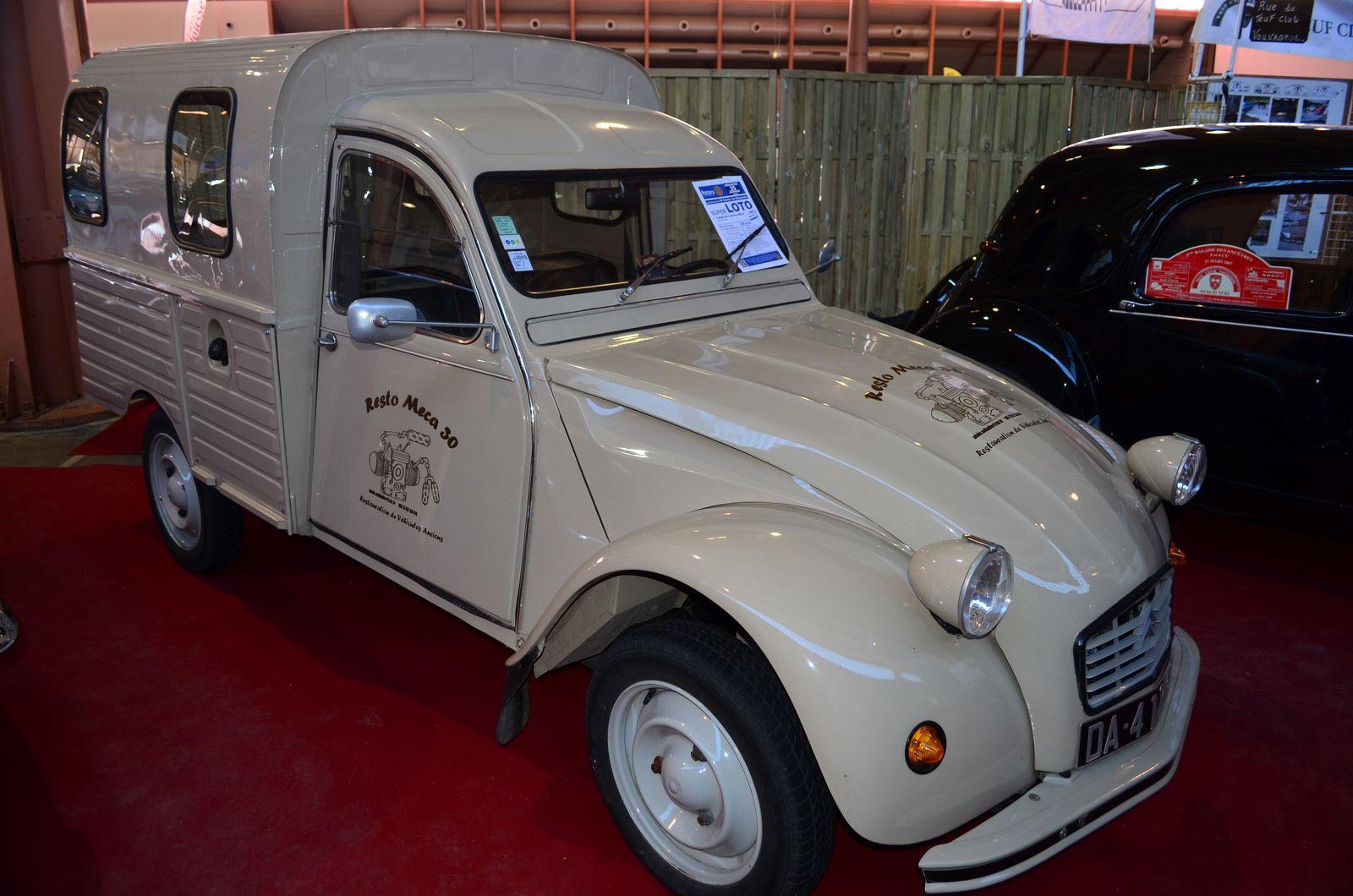 Citroen 2 Cv Camionnette Truck Design Citroen Renault