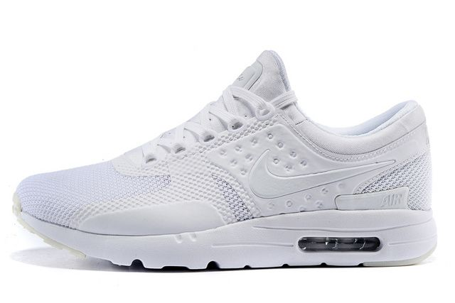 best service ceb61 859fa Nike Air Max Zero OS Women s Sport Shoes all white