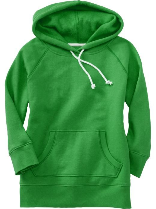 three-quarter sleeve hoodie? about time!
