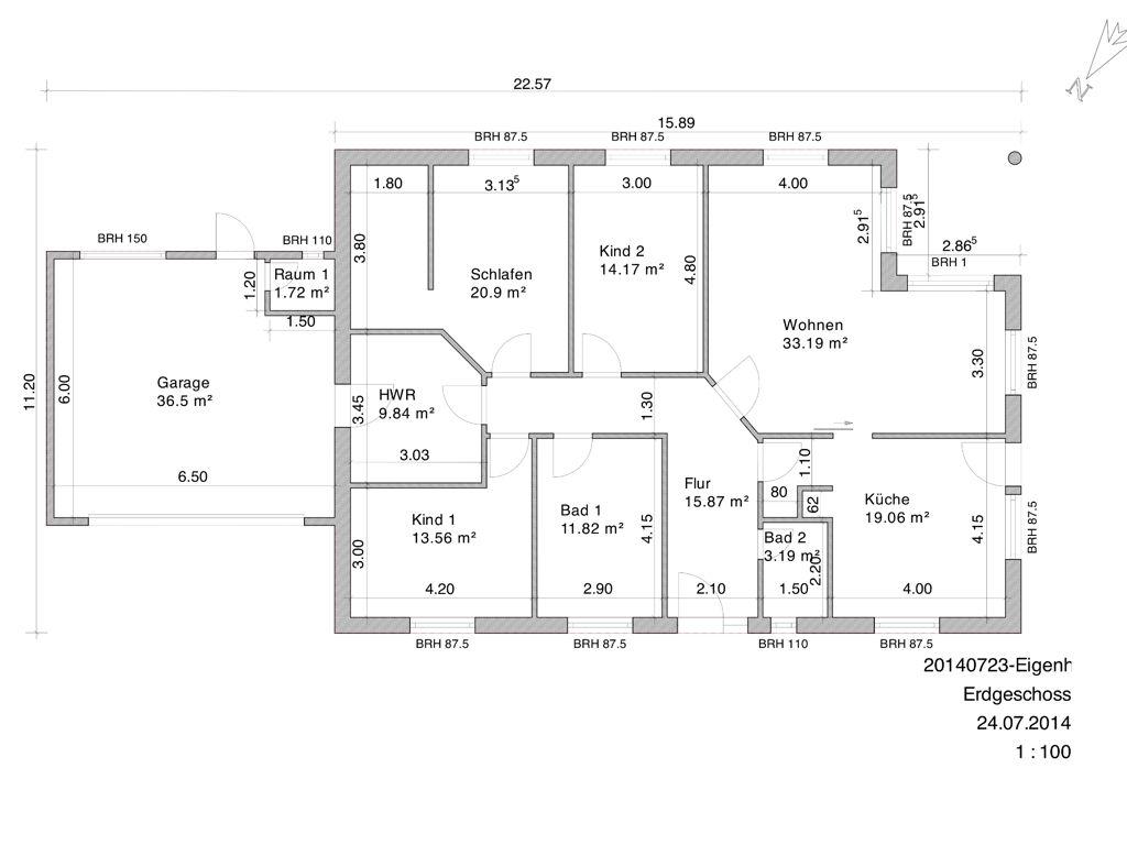 bungalow mit garage grundrisse wohnen pinterest bungalow. Black Bedroom Furniture Sets. Home Design Ideas