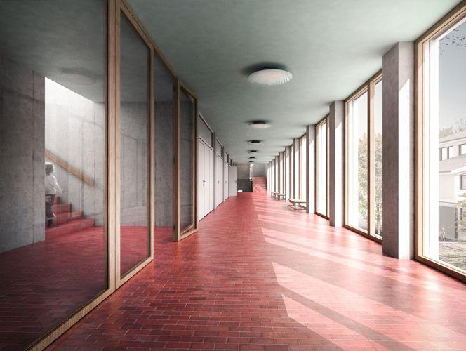 Wohnideen Dübendorf erweiterung schulanlage birchlen dübendorf 2015 fischer architekten